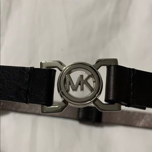 MK logo belt